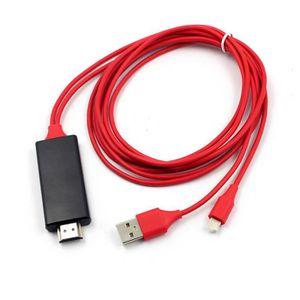 Téléphone portable Câble adaptateur adaptateur Apple HDMI vers HDMI T