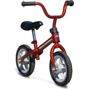 DRAISIENNE CHICCO Vélo Draisienne Rouge 10 pouces 2/5 ans