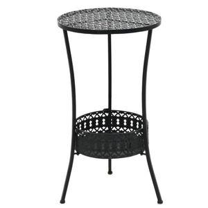 Table bistro metal