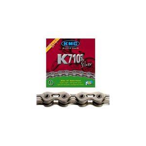 KMC K 710 SL Cha/îne de v/élo Argent//Noir