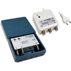COUPLEUR D'ANTENNE METRONIC 432171 Kit amplificateur coupleur d'extér