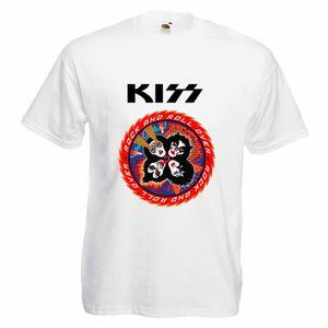 T-SHIRT T-shirt Homme Kiss - T-shirt rock metal band 100%