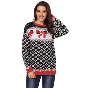 PULL Pull de Noël Femme Manches Longues Grande Taille N