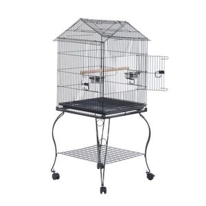 grande cage a oiseaux achat vente grande cage a oiseaux pas cher cdiscount. Black Bedroom Furniture Sets. Home Design Ideas
