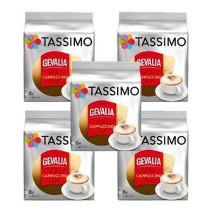 CAFÉ 5 Tassimo Gevalia Cappuccino