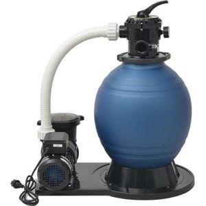 POMPE - FILTRATION  vidaXL Pompe de filtration à sable 1000 W 16800 l/