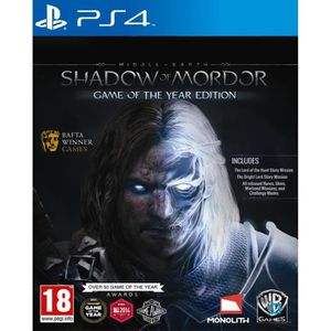 JEU PS4 MITTELERDE : MORDORS SCHATTEN - GAME OF THE YEAR E