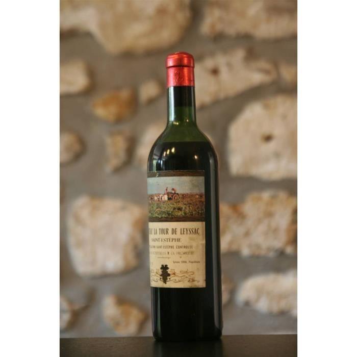 Vin rouge, St Estephe, Château La Tour de Leyssac 1959 Rouge