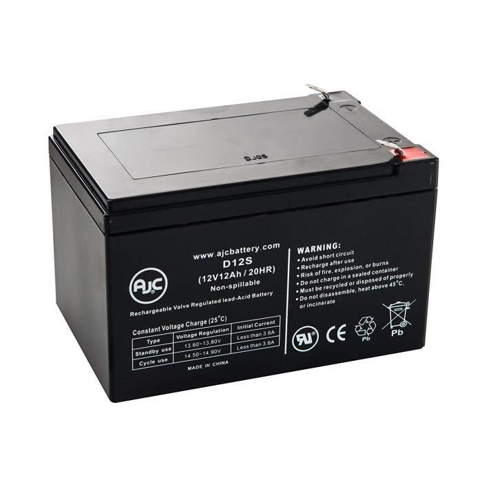 Onduleurs et accessoires Batterie Peg Perego Vespa 12V 12Ah Scooter - Ce Produit est Un Article de Remplacement de la Ma 353676