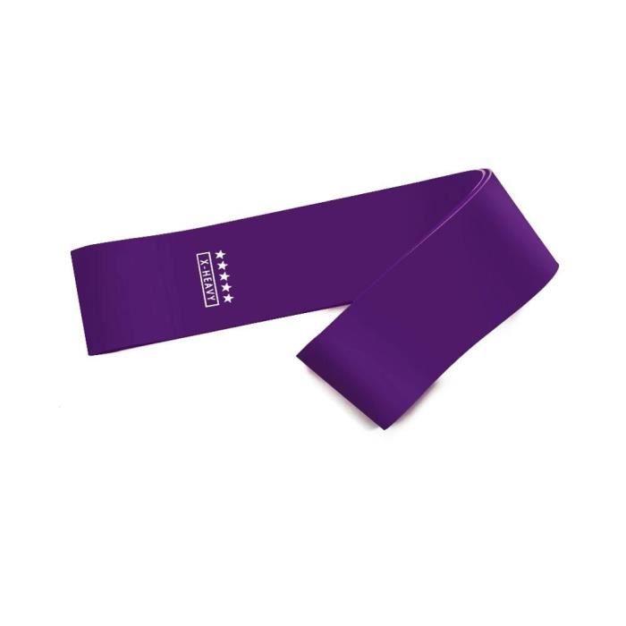 Bandes de résistance de Crossfit de Yoga corde de traction d'entraînement en caoutchouc de 5 nivea - Modèle: purple - HSJSTLDA07911