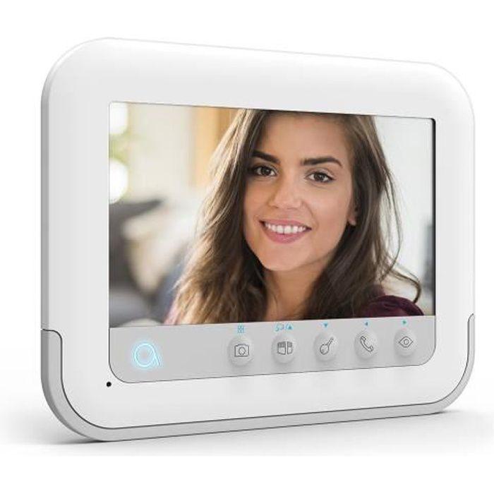 AVIDSEN Yvla 3+ - Interphone avec caméra vision nocturne 7pouces