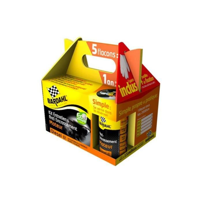Pack entretien et anti encrassement moteur Diesel