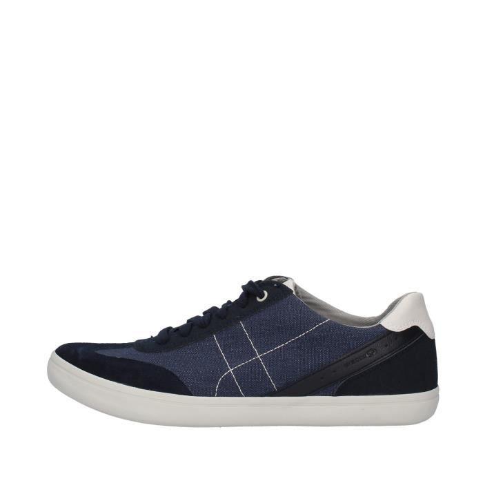 Geox U923AD013AF chaussures de tennis faible homme BLEU MARINE