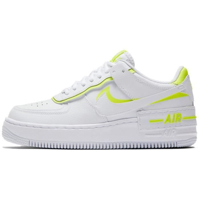 Basket Air Force 1 Shadow Air Force One AF 1 Low Chaussures de Running Femme CI0919-1104