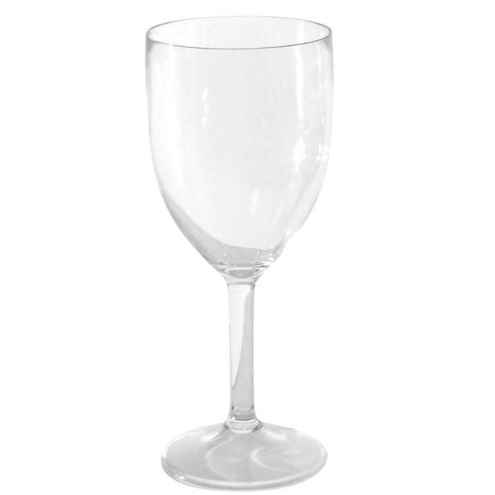 Verres à vin polycarbonate x 3