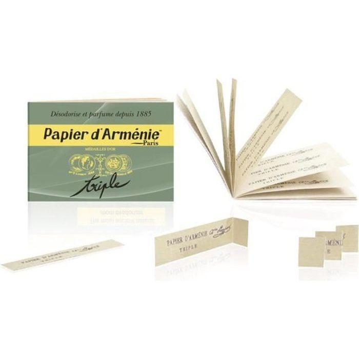 Carnet Papier d'Arménie Triple