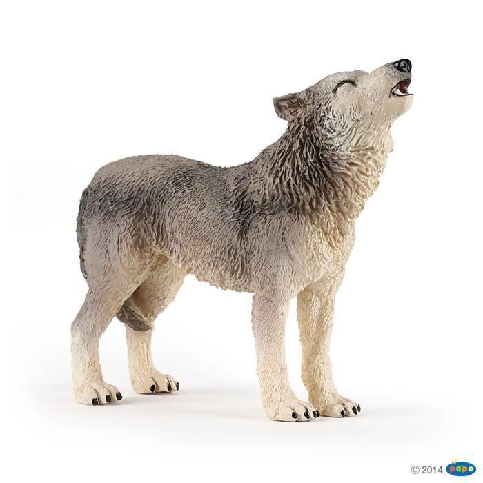 PAPO 50171 Figurine Loup hurlant