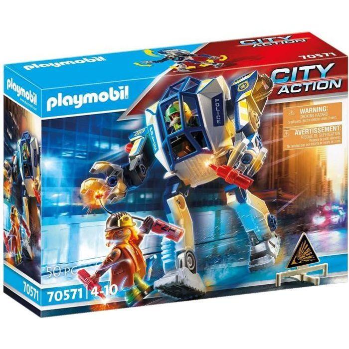 PLAYMOBIL - 70571 - Police Robot de police
