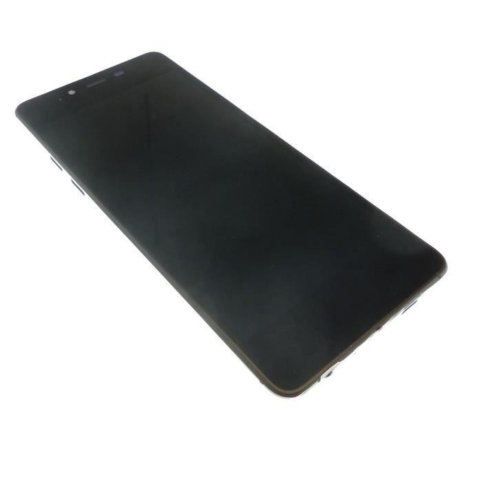 Ecran vitre tactile et LCD assemblés Noir et OR pour Wiko Highway pure