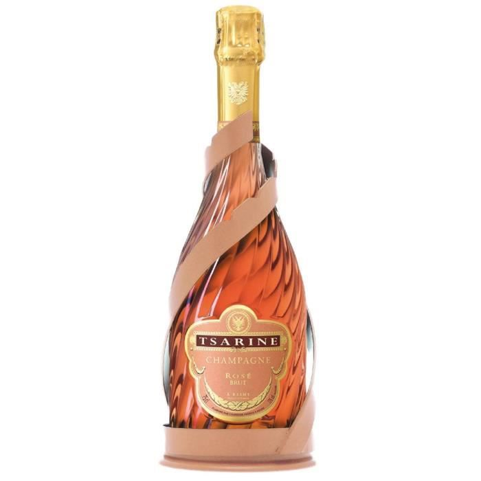 Champagne Tsarine Champagne brut réserve - Rosé - 75cl