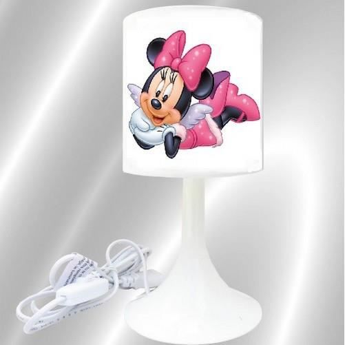 Lampe de chevet enfant minnie ange achat vente lampe for Lampe de chevet fillette