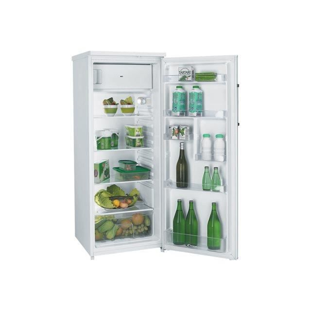 Candy r frig rateur 1 porte ccods5142wh ccods 5 achat for Refrigerateur 1 porte