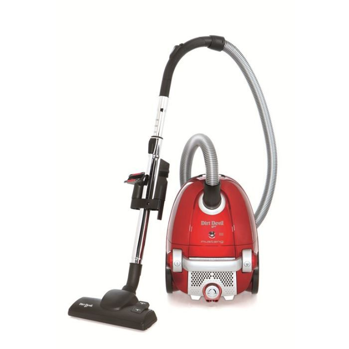 aspirateur traineau avec sac mustang 2200w rouge dirt. Black Bedroom Furniture Sets. Home Design Ideas