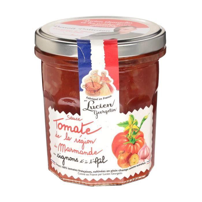 SAUCE CHAUDE LUCIEN GEORGELIN Sauce Tomate de La Région de Marm