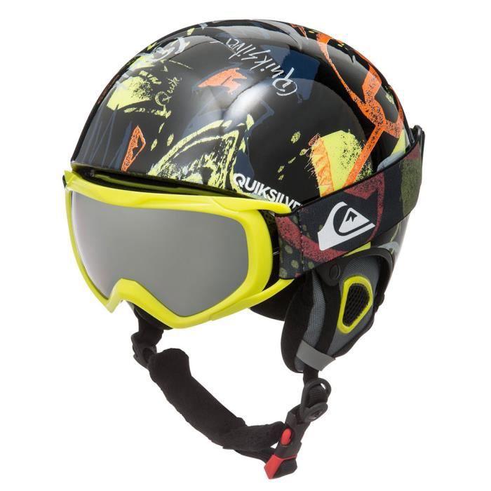 Quiksilver The Game Casque de Ski//Snowboard Gar/çon