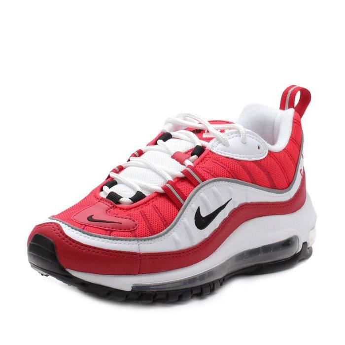 air max 98 grise rouge