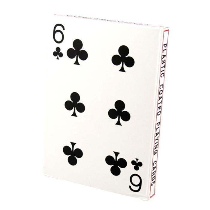 1 Jeu De Cartes A Jouer Jeux De Table Premium 4 Fois Plus Grandes A Poker Pour De Societe Fete Maison Famille Affiche Poster Achat Vente Affiche Poster