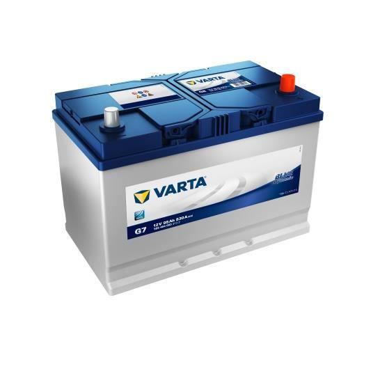 BATTERIE VÉHICULE VARTA Batterie Auto G7 (+ droite) 12V 95AH 830A