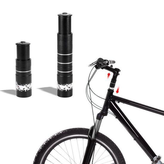 Vélo Bicyclette Fourche TIGE Prolongateur Guidon Riser Head Up adaptateur Aluminium VTT