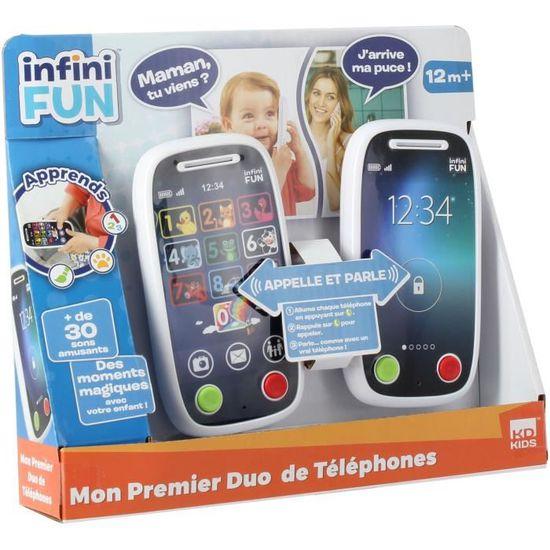 Infini Fun Mon 1er Duo De Téléphone