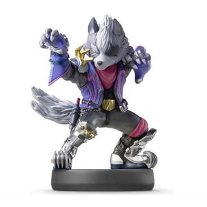 FIGURINE DE JEU Amiibo Collection Super Smash Bros - Wolf