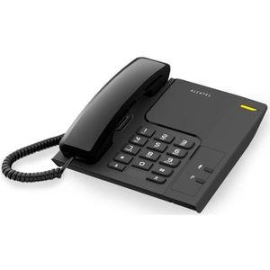 Téléphone fixe Téléphone fixe Alcatel TEMPORIS T-26 LED Noir Mult