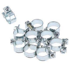 Nouveau jubilee clips colliers de serrage carburant réglable eau gaz colliers vendeur britannique
