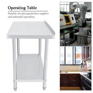 SYSTÈME D'EXPLOITATION Poste de travail de table d'opération de cuisine d
