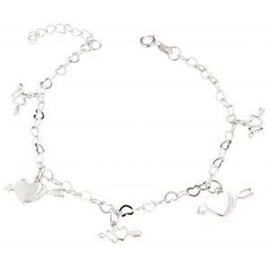 breloque bracelet argent