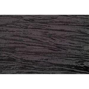 TISSU Tissu Taffetas Plissé Noir -Au Mètre