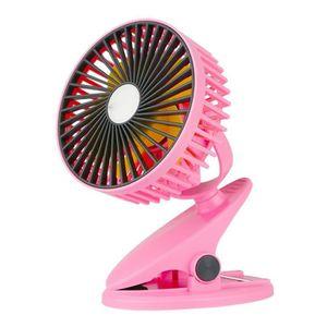 VENTILATEUR Ototon® Mini Ventilateur À Pince Ventilateur USB U