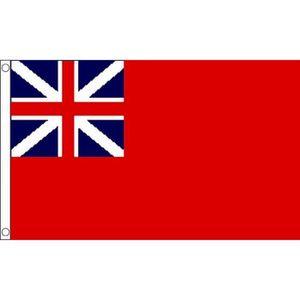 DRAPEAU DÉCORATIF Drapeau Royaume-Uni Red Ensign Colonial 150x90cm -