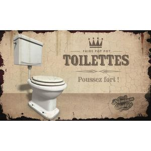 plaque porte wc achat vente plaque porte wc pas cher cdiscount. Black Bedroom Furniture Sets. Home Design Ideas