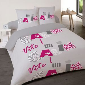 Couette 2 pers achat vente couette 2 pers pas cher cdiscount - Housse de couette 200x200 carrefour ...