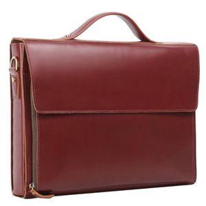 SAC À MAIN Leathario sac serviette sac homme cuir sac à main
