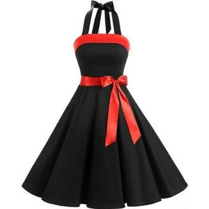 ROBE DE CÉRÉMONIE Finddress Robe Vintage Rockabilly  Sexy Robe de Co