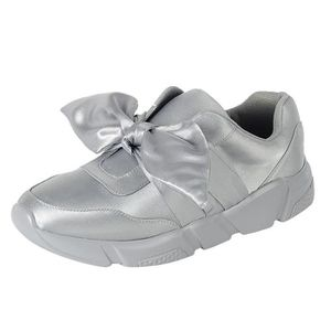 Slip-on Stretch Bow Casual Sport Fashion Sneaker WBUSN Taille-37 1-2 yPUCpv