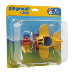 UNIVERS MINIATURE Playmobil Pilote Avion