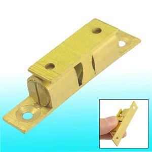 Sourcingmap Laiton Cabinet Porte de placard double Loqueteau /à billes Tension Loquet 35/mm Longueur Gold Tone 2/pcs