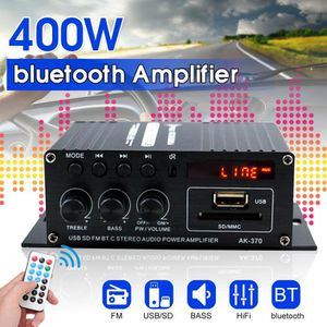 AMPLIFICATEUR HIFI TEMPSA 400W 220V Mini Amplificateur Bluetooth HiFi